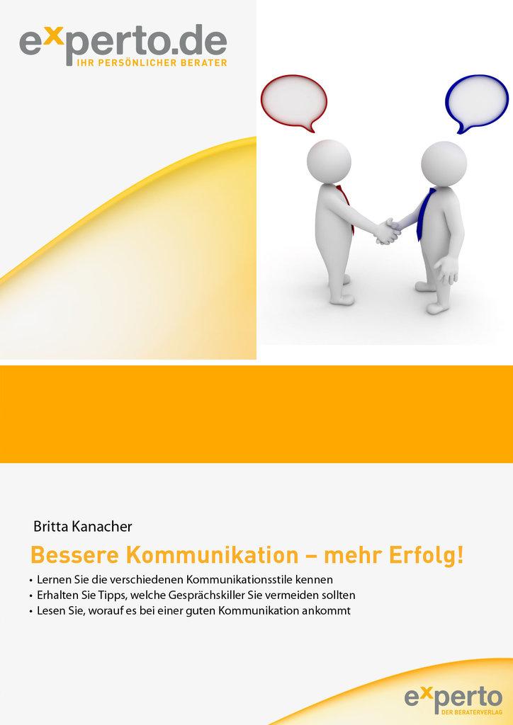 Britta Kanacher: Bessere Kommunikation - mehr Erfolg