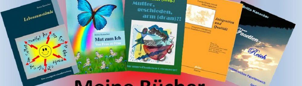 Britta Kanacher, Lebensumstände, Buchcover, Buch