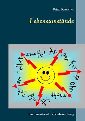 Buch, Cover, Buchcover Lebensumstände, Kanacher