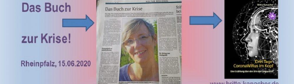 Britta kanacher, CoronaWIRus, Rheinpfalz